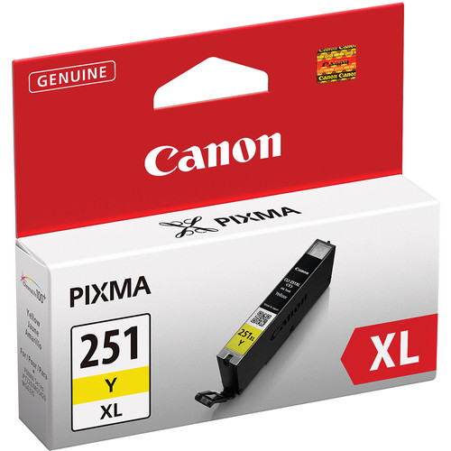 Canon CLI-251Y XL High-Capacity Yellow Ink Tank