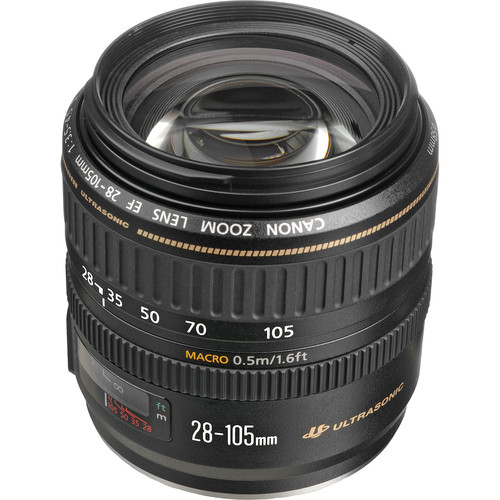 Canon Zoom Wide Angle-Telephoto EF 28-105mm f/3.5-4.5 II USM Autofocus Lens
