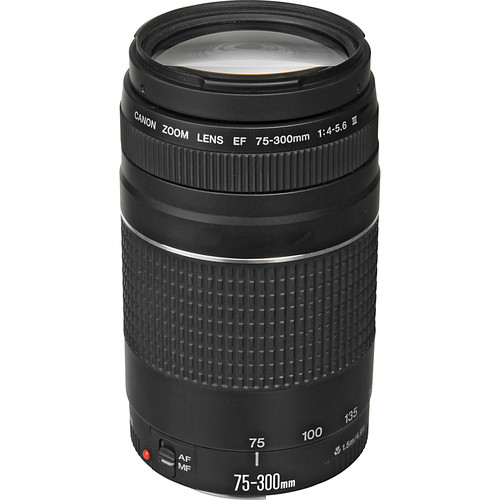 Ef 75 300mm F/4 5.6 Iii Lens by Canon