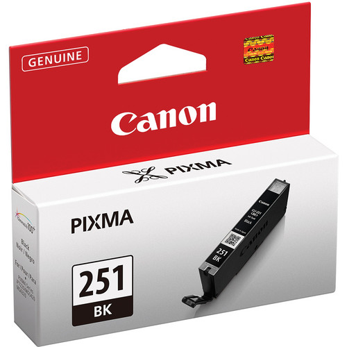 Canon CLI-251BK Standard Capacity Black Ink Tank