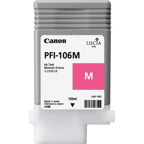 Canon PFI-106 Magenta Ink Cartridge (130 ml)