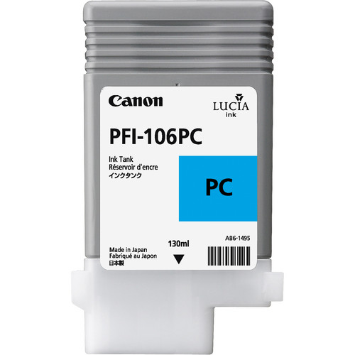 Canon PFI-106 Photo Cyan Ink Cartridge (130 ml)