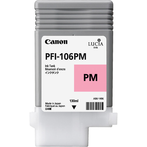 Canon PFI-106 Photo Magenta Ink Cartridge (130 ml)