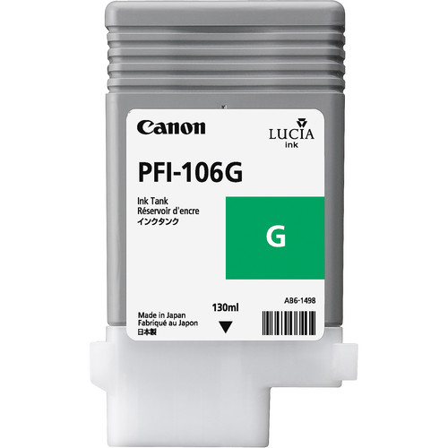 Canon PFI-106G Green Ink Cartridge (130mL)