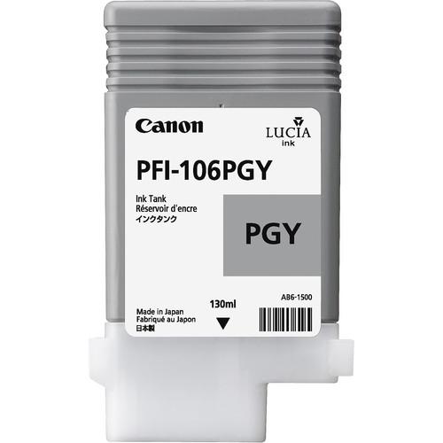 Canon PFI-106PGY Photo Gray Ink Cartridge (130mL)