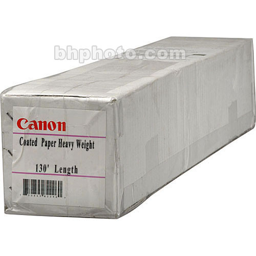 """Canon Coated Paper Heavy Weight Matte for Inkjet (42"""" x 130' Roll)"""