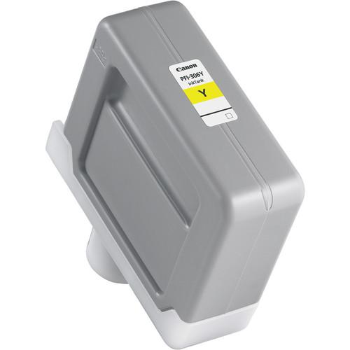 Canon PFI-306 Yellow Ink Cartridge (330 ml)