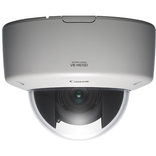 Canon VB-H610D Full HD Fixed Dome IP Security Camera