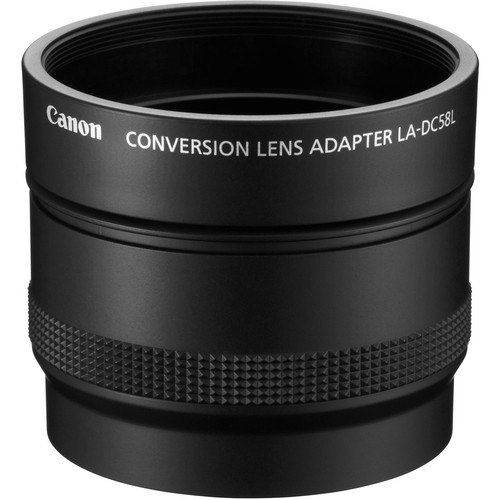Canon LA-DC58L Conversion Lens Adapter for PowerShot G15 & G16 Digital Cameras