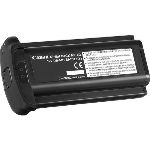 Canon Np E3 Nimh Battery 12v 1650mah 7084a002 B Amp H Photo