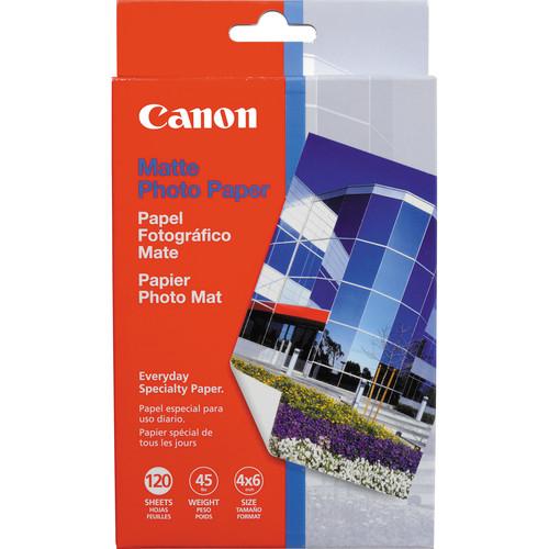"""Canon Photo Paper Matte - 4x6"""" - 120 Sheets"""