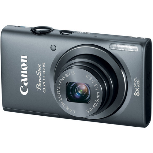 Canon PowerShot ELPH 130 IS (Gray)