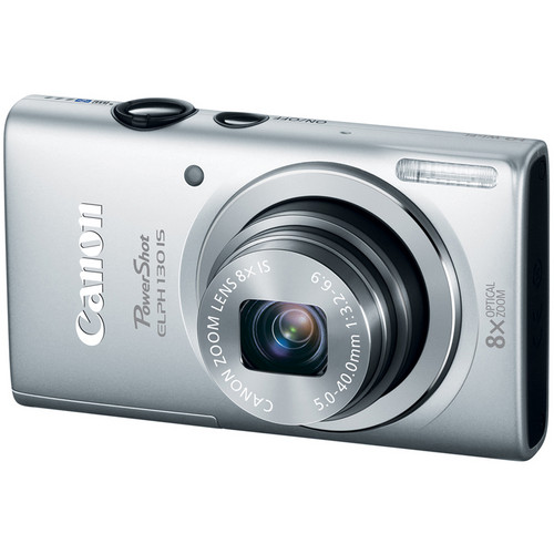 Canon PowerShot ELPH 130 IS (Silver)