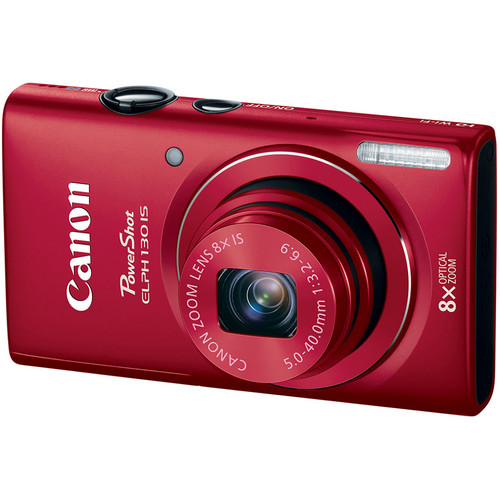 Canon PowerShot ELPH 130 IS (Red)