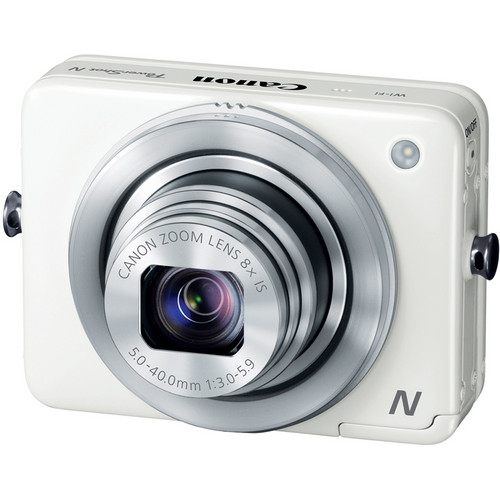 Canon PowerShot N Digital Camera (White)
