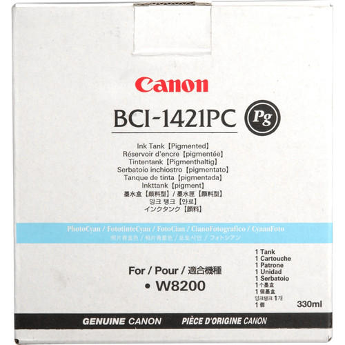 Canon BCI-1421PC PG Photo Cyan Ink Tank (330 ml)