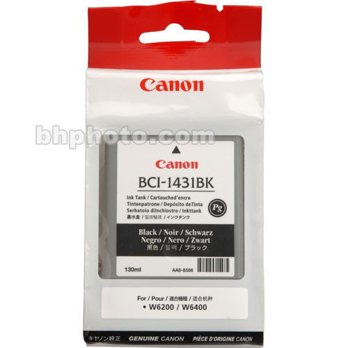 Canon BCI-1431BK Black Ink Tank (130 ml)