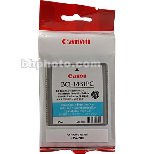 Canon BCI-1431PC Photo Cyan Ink Tank (130 ml)