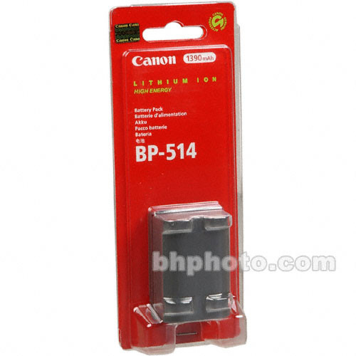 Canon BP-514 Lithium-Ion Battery Pack (7.4V, 1390mAh)