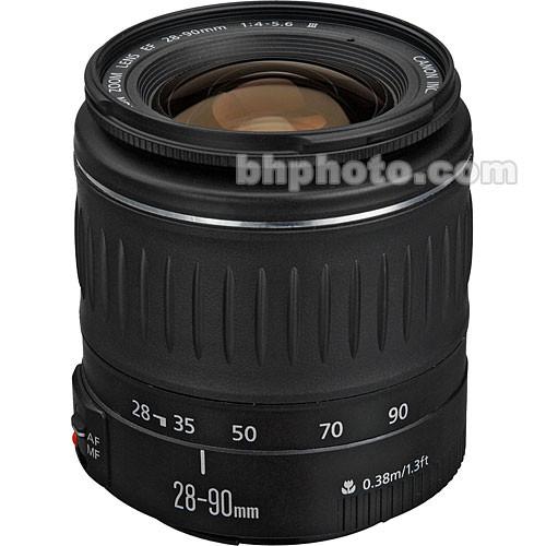 Canon EF 28-90mm f/4-5.6 III AF Lens - Black