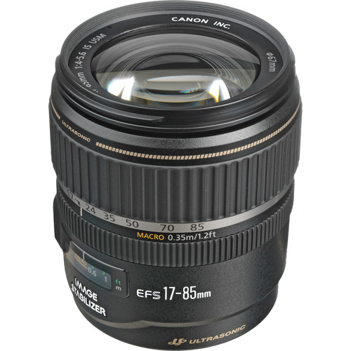 Canon EF-S 17-85mm f/4-5.6 IS USM Autofocus Lens (White Box)