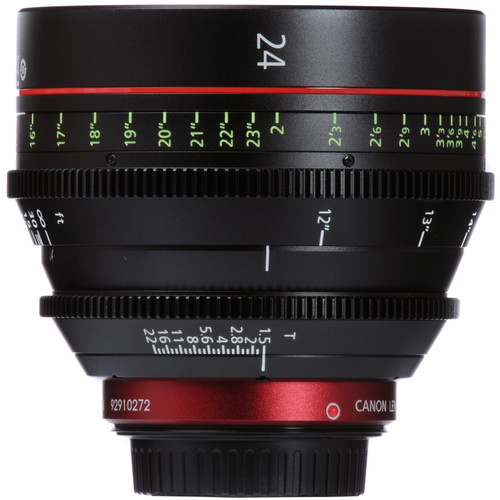 Canon EF Cinema Prime Lens Kit (24, 50, 85mm)