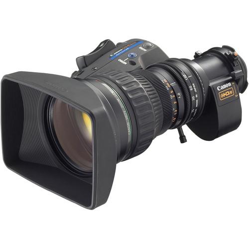 """Canon HJ17EX6.2B IRSE 2/3"""" Portable HDTV ENG Lens"""