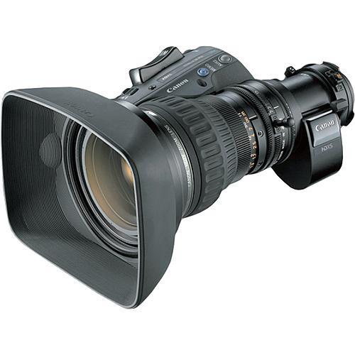 """Canon HJ17ex7.6B ITS-ME 17x 2/3"""" Motor Drive Full-Servo Lens"""