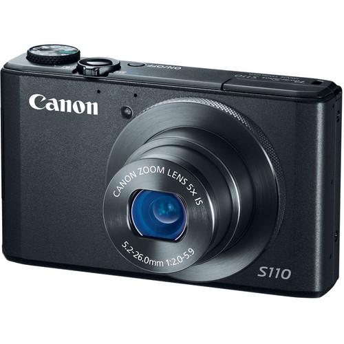 Canon PowerShot S110 Digital Camera (Black)