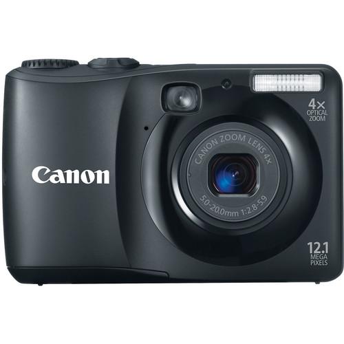 Canon Powershot A1200 Digital Camera (Black)