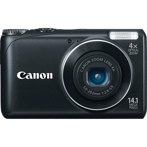 Canon Powershot A2200 Digital Camera (Black)