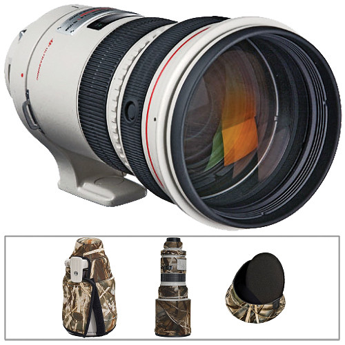 Canon Telephoto EF 300mm f/2.8L IS Image Stabilizer USM Autofocus Lens Kit A