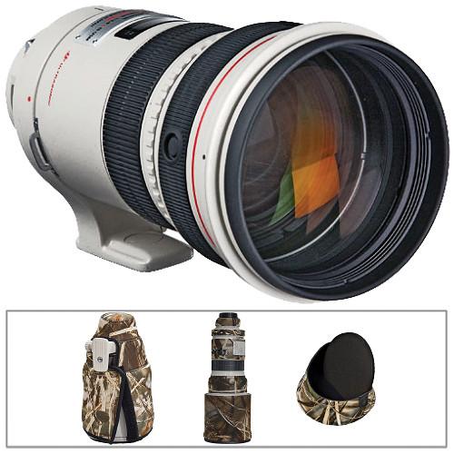 Canon Telephoto EF 300mm f/2.8L IS Image Stabilizer USM Autofocus Lens Kit A
