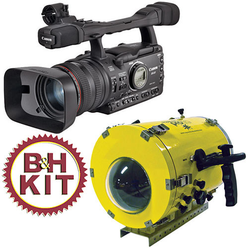 Canon XH-A1 3CCD HDV Underwater Camcorder Kit