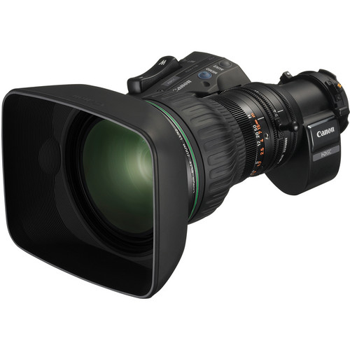 "Canon KJ22ex7.6B IRSD 2/3"" Telephoto Remote Control Portable Lens"