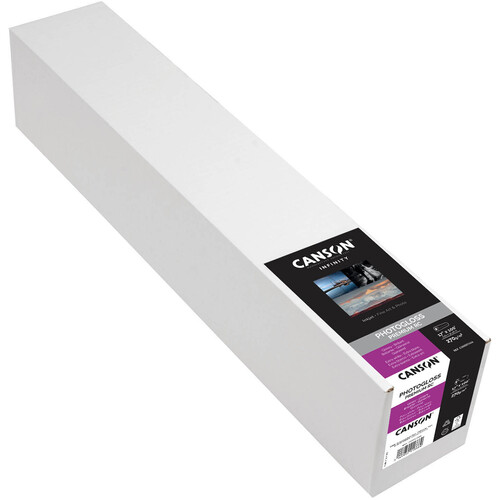 "Canson Infinity PhotoGloss Premium Resin Coated 270 Archival Inkjet Paper (17"" x 100' Roll)"