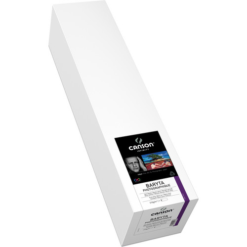 "Canson Infinity 2292 Baryta Photographique Inkjet Paper (310 gsm) 17"" x 50' Roll"