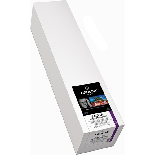 "Canson Infinity 2293 Baryta Photographique Inkjet Paper (310 gsm) 24"" x 50' Roll"