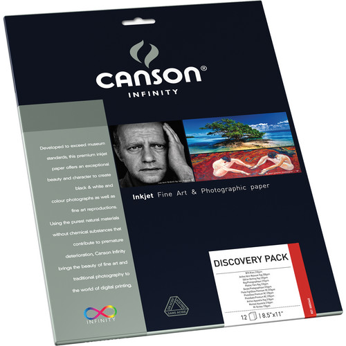 "Canson Infinity Discovery Pack (8.5 x 11"", Letter, 12 Sheets)"