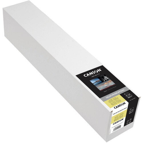 "Canson Infinity Velin Museum Rag (315 gsm, 17"" x 50' Roll)"