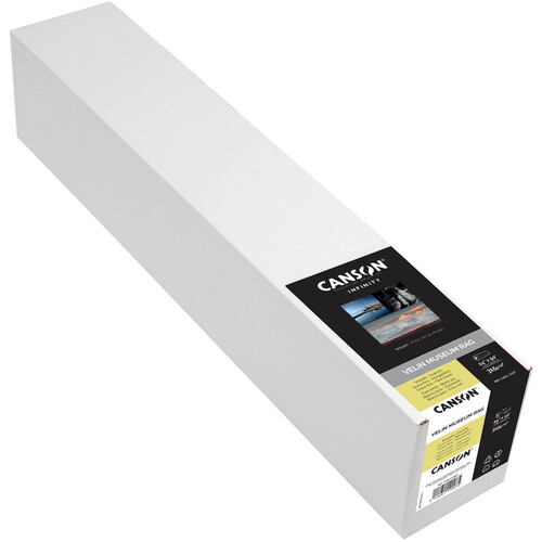 """Canson Infinity Velin Museum Rag (315 gsm, 24"""" x 50' Roll)"""