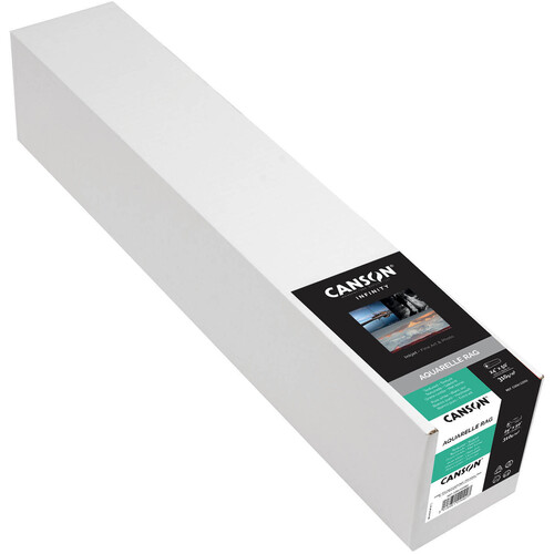 """Canson Infinity Aquarelle Rag (24"""" x 50' Roll, 310 gsm)"""