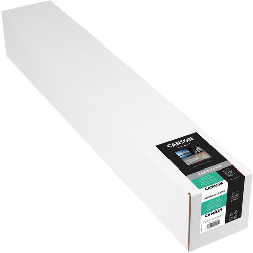 "Canson Infinity Aquarelle Rag (36"" x 50' Roll, 310 gsm)"