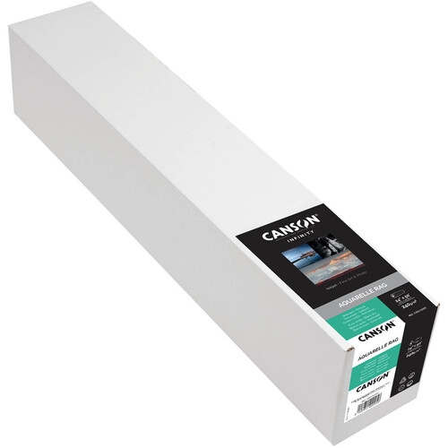 """Canson Infinity Aquarelle Rag (24"""" x 50' Roll, 240 gsm)"""