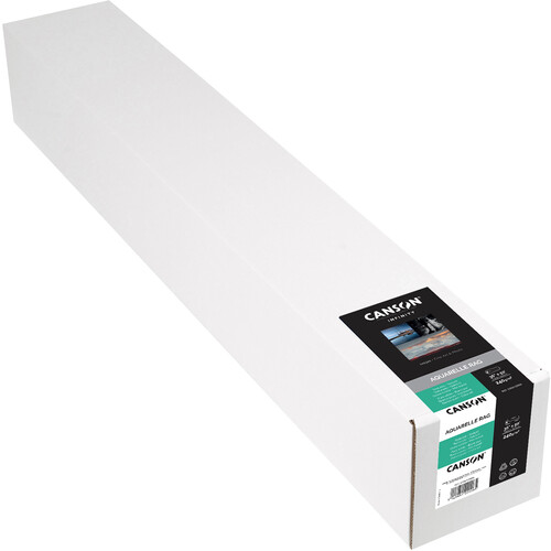 "Canson Infinity Aquarelle Rag (36"" x 50' Roll, 240 gsm)"