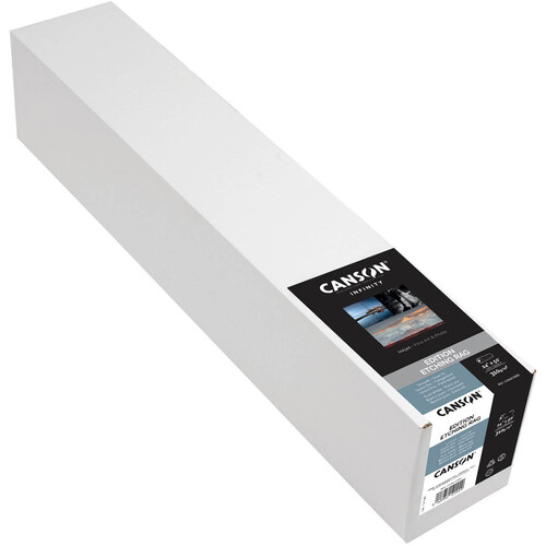 """Canson Infinity Edition Etching Rag 310 gsm Archival Inkjet Paper (24"""" x 50' Roll)"""