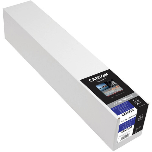 "Canson Infinity Platine Fibre Rag 310 Archival Inkjet Paper (24"" x 50' Roll)"