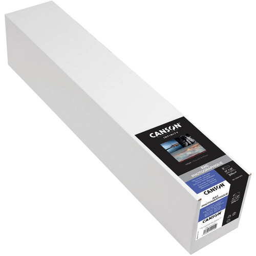 """Canson Infinity Rag Photographique 310 gsm Archival Inkjet Paper (17"""" x 50' Roll)"""