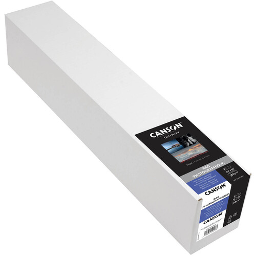 "Canson Infinity Rag Photographique 310 gsm Archival Inkjet Paper (24"" x 50' Roll)"