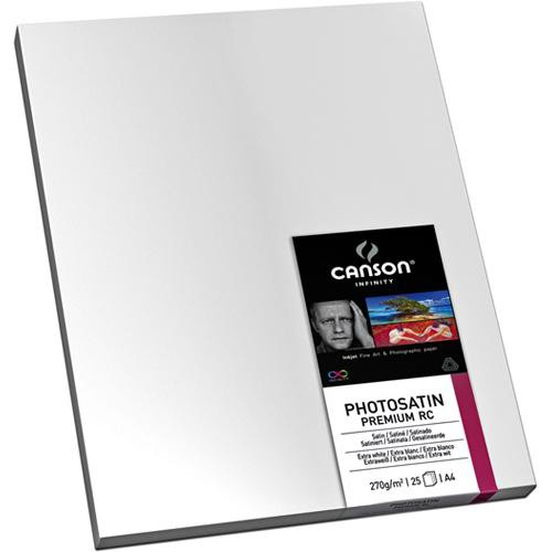 "Canson Infinity PhotoSatin Premium Resin Coated Paper (270gsm, 13 x 19"", 25 Sheets)"